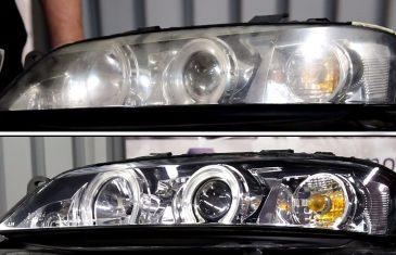 Jak samemu zregenerować lampy w samochodzie?